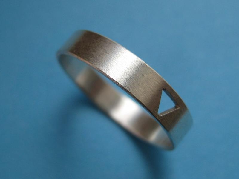 Kleinesbild - Silberring mit Durchblick