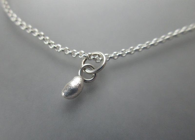 Kleinesbild - Silberanhänger Perle der Natur