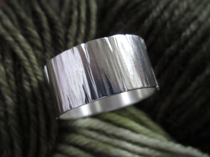 - Strukturierter Silberring extreme - Strukturierter Silberring extreme