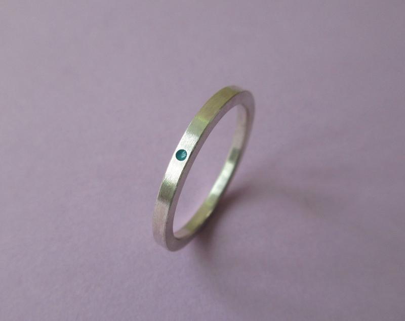 - Silberring -magical dots No.1- Mini-Serie - Silberring -magical dots No.1- Mini-Serie