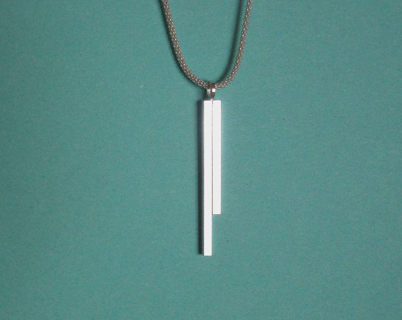 Kleinesbild - -pretty simple- Anhänger aus Silber mit Kette