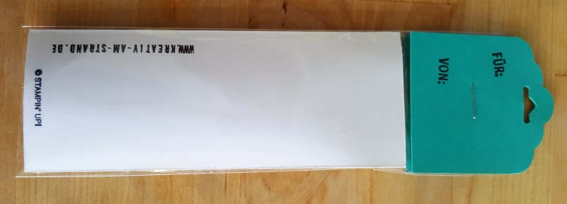 Kleinesbild - Selbstgenähtes Schlüsselband in dekorativer Geschenkverpackung