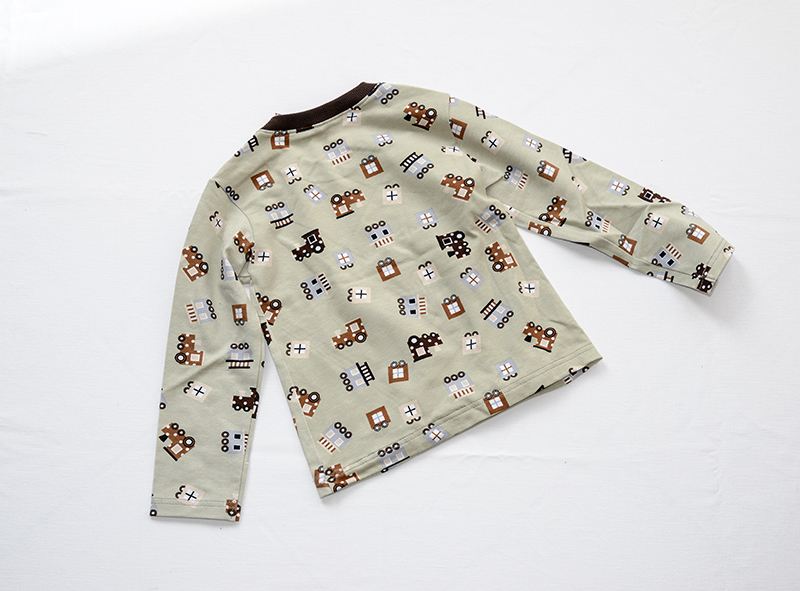 Kleinesbild - Eisenbahn Langarm Shirt