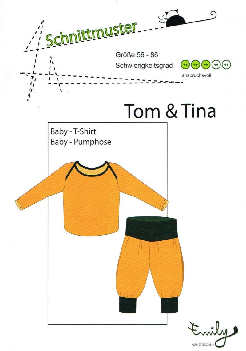 - Schnittmuster T-Shirt und Hose  - Schnittmuster T-Shirt und Hose
