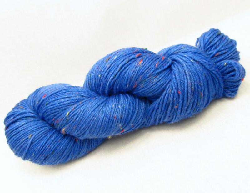 - Tweed 6fach, *Jeans On!*, 150g, handgefärbte Sockenwolle - Tweed 6fach, *Jeans On!*, 150g, handgefärbte Sockenwolle