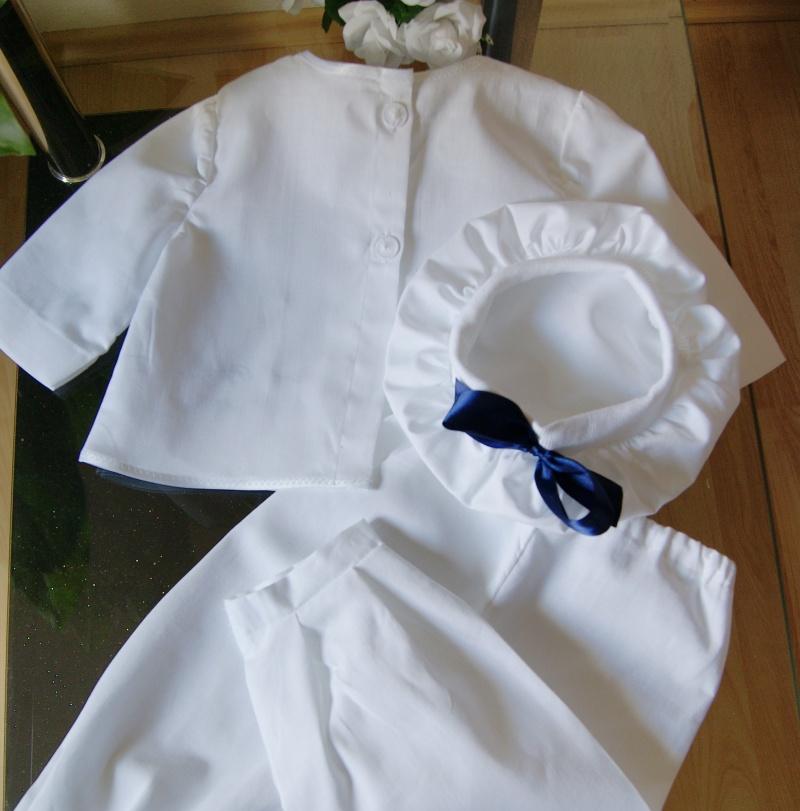 Kleinesbild - Taufanzug für Jungen und Mädchen 3-tlg. Anzug Taufe.
