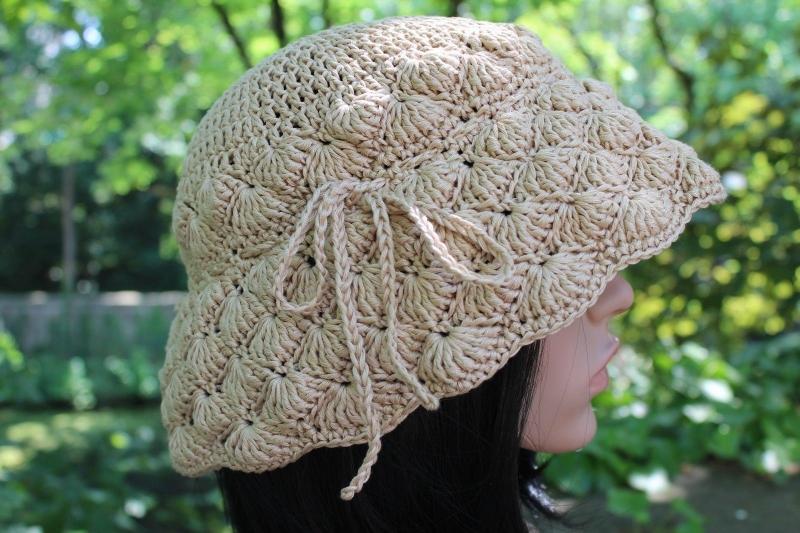 Kopfbedeckung Hut Gehäkelt Cloche Flapper Glockenhut Im