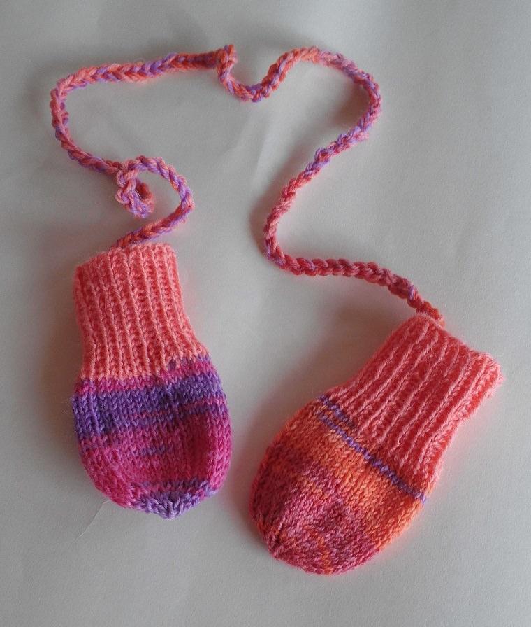 -  Babyhandschuhe / handgestrickt /  0-3 Monate/ jetzt kaufen -  Babyhandschuhe / handgestrickt /  0-3 Monate/ jetzt kaufen