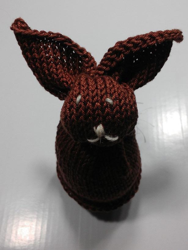 Kleinesbild -  Hase als Eierwärmer handgestrickt jetzt entdecken