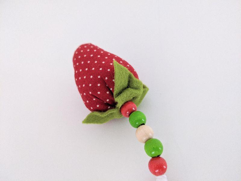 - ♥️ Schlüsselanhänger Erdbeere ♥️ Taschenbaumler, Anhänger - ♥️ Schlüsselanhänger Erdbeere ♥️ Taschenbaumler, Anhänger
