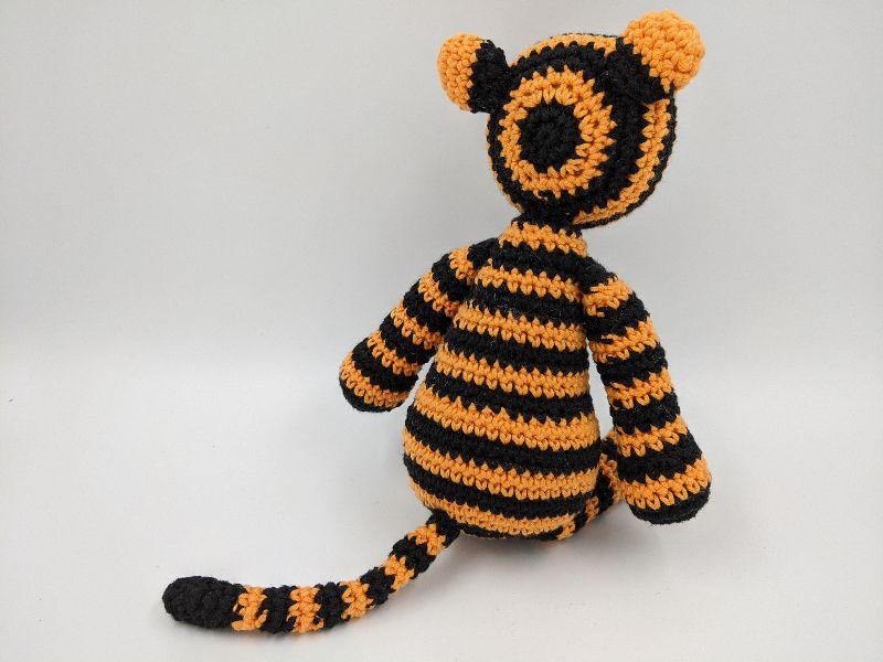 Kleinesbild - ♥ Häkeltiger ♥ Häkeltier, Kuscheltier, Tiger, Babygeschenk, Geschenk, Geburtstagsgeschenk (Kopie id: 100268795)