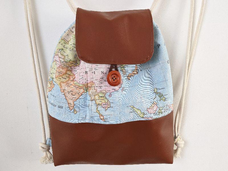 Kleinesbild -  ♥ Rucksack groß ♥ Maße 44 cm x 34 cm, Shopper, Turnbeutel, Tasche, Rucksackliebe (Kopie id: 100272217)