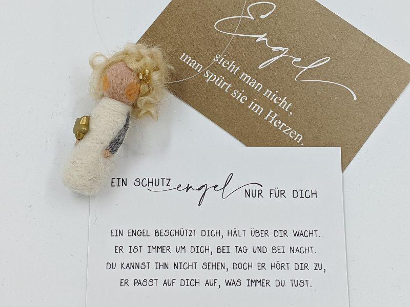 Kleinesbild - ♥ FilzSchutzengel ♥ , Geburtsgeschenk, Glücksbringer, Taufgeschenk, Geschenk für den Führerschein, Schutzengel (Kopie id: 100266162) (Kopie id: 100266188) (Kopie id: 100269249) (Ko