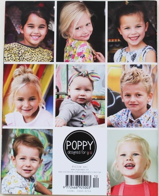 Kleinesbild -  Poppy 12 ♥ Schnittmusterheft ♥ Boys and Girls patterns ♥ Größe 56 - 176