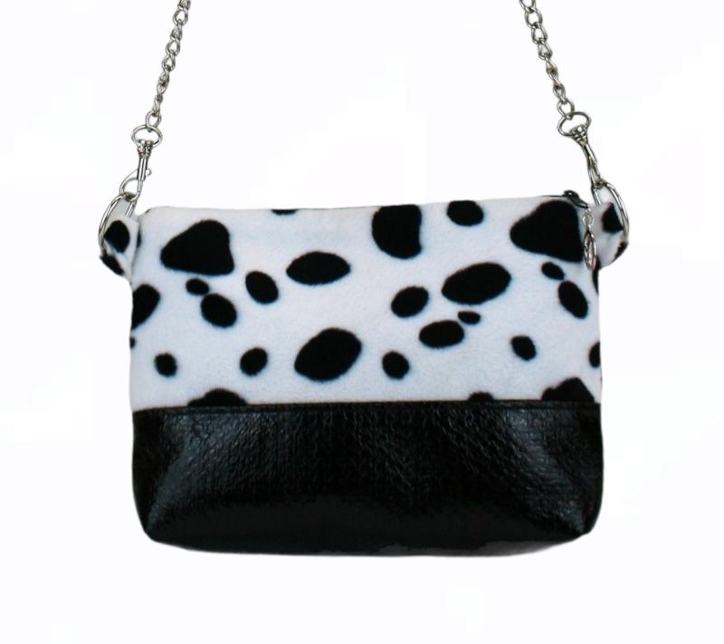 - Handtasche ♥ Dalmatiner ♥  Schultertasche Bag Clubtasche Umhängetasche - Handtasche ♥ Dalmatiner ♥  Schultertasche Bag Clubtasche Umhängetasche