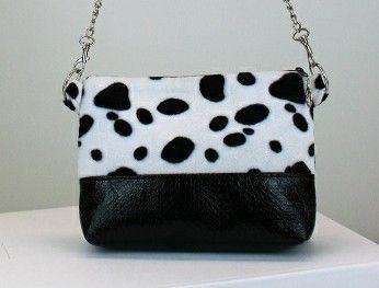 Kleinesbild - Handtasche ♥ Dalmatiner ♥  Schultertasche Bag Clubtasche Umhängetasche