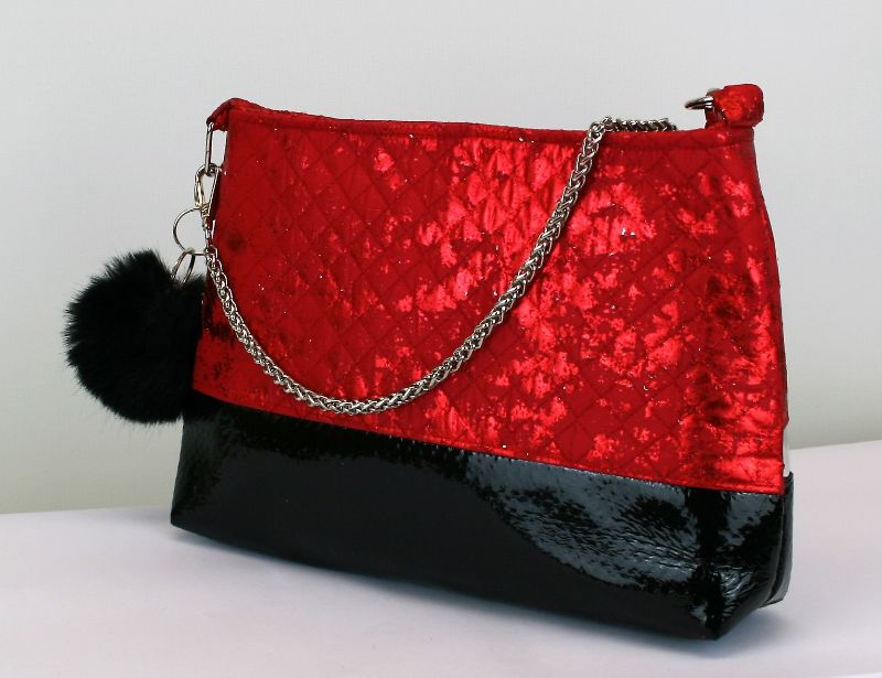 Kleinesbild - Handtasche ♥ Capital Night ♥  Designertasche Clubtasche Bag Umhängetasche