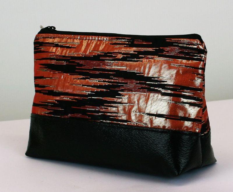 Kleinesbild - Kosmetiktasche ♥ Merle ♥ Schminktäschchen Bag Minibag