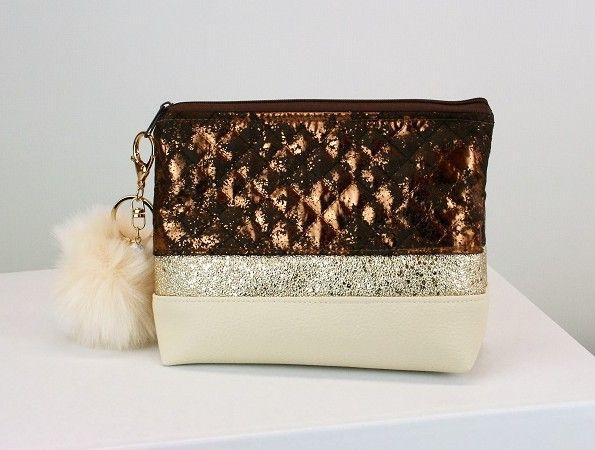 Kleinesbild - Kosmetiktasche ♥ Beautydream ♥  Schminktäschchen Bag Minibag