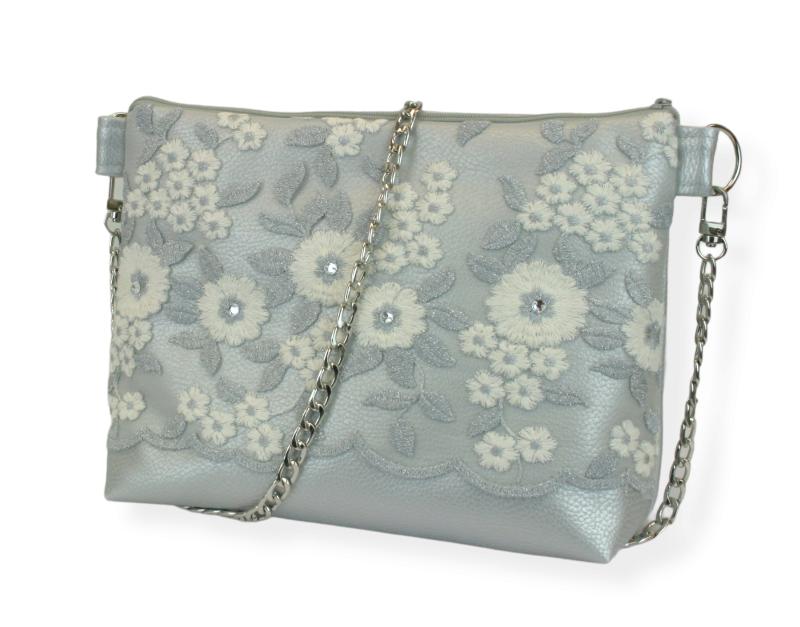 - Handtasche ♥ Eiskristall ♥ Schultertasche Glitzertasche Bag - Handtasche ♥ Eiskristall ♥ Schultertasche Glitzertasche Bag