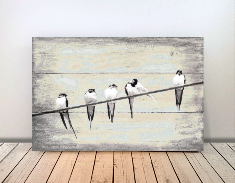 Wanddekoration : Birds \