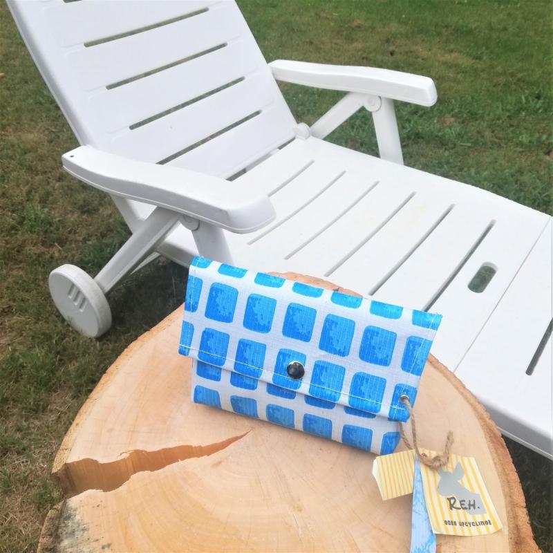 Kleinesbild - Tasche aus Plane, Pool, Kulturtasche, Badetasche, Kulturbeutel, Schminktasche