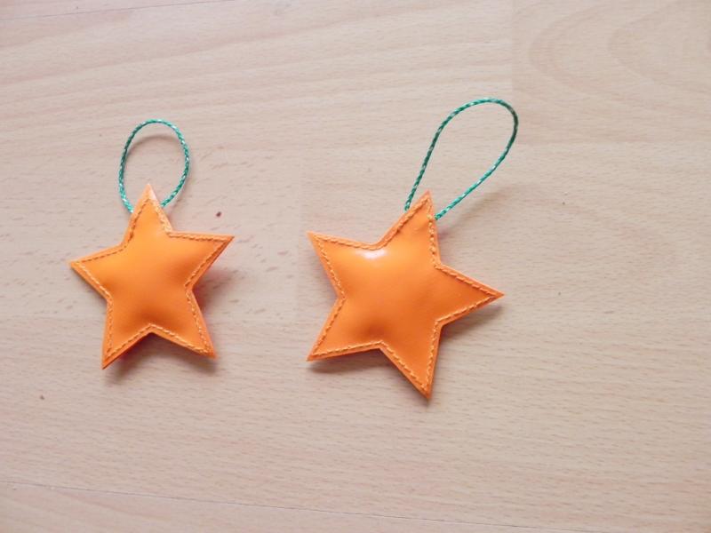 Kleinesbild - Toller Aufhänger in Sternform aus LKW Plane für drinnen und draußen, Garten, Baum, Weihnachten (Kopie id: 100146061)