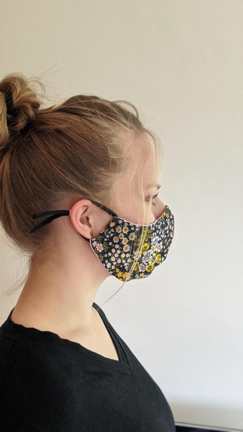 Kleinesbild - Mund- und Nasenschutz, Behelfsmasken, Masken aus Baumwolle, Schutzmasken genäht, tolle Designs (Kopie id: 100230050)