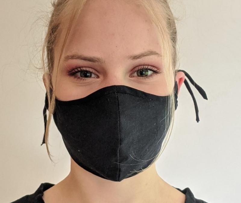 Kleinesbild - Maske Masken Mund- und Nasenmaske Mundschutz Mundschutzmaske Behelfsmaske Communitymaske Mund- und Nasenabdeckung (Kopie id: 100240006)