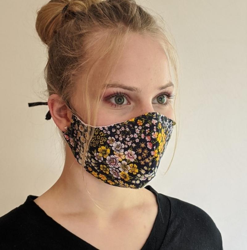Kleinesbild - Mund- und Nasenschutz, Behelfsmasken, Masken aus Baumwolle, Schutzmasken genäht, tolle Designs, Alltagsmaske,