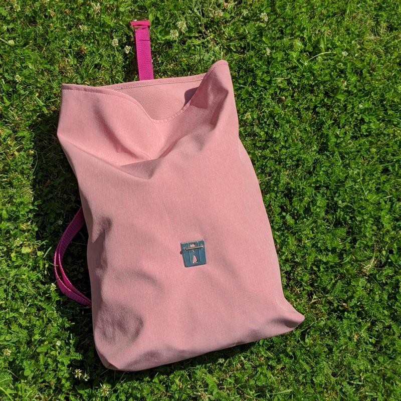 Kleinesbild - Rucksack, Umhängetasche, Softshell, Leichtgewicht, rosa, echt cool, REH., Shopper, pink, rot