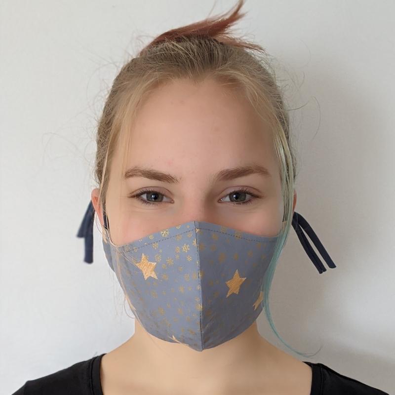 Kleinesbild - Maske Masken Mund- und Nasenmaske Mundschutz Mundschutzmaske Behelfsmaske Geschenk Weihnachten Nicolaus Adventskalender Weihnachtsmaske (Kopie id: 100251741) (Kopie id: 100251752)