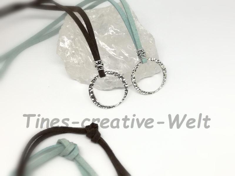 Kleinesbild - Brillenkette, Brillenband, Kette, Charmkette, Basiskette, Charm, Velourband, Velour, Halsschmuck, Schmuck, Geschenk