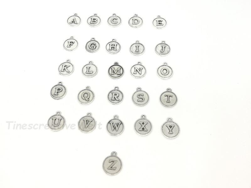 Kleinesbild - Personalisierbarer Schlüsselanhänger, Marienkäfer, Glücksbringer, Herz, Initialen, Glascabochon, Geschenk