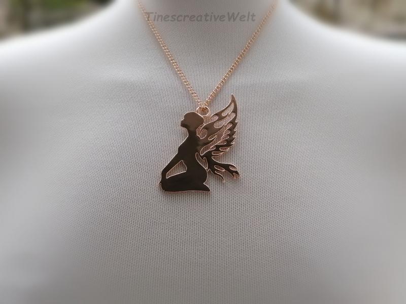 - Kette, Engel, Fee, Geschenk für Frauen, Geschenkidee - Kette, Engel, Fee, Geschenk für Frauen, Geschenkidee