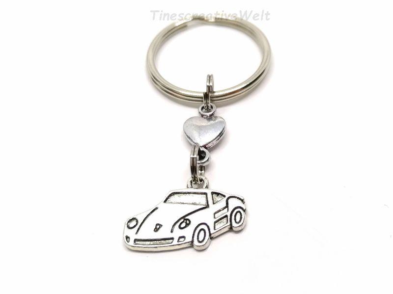 - Schlüsselanhänger, Auto, fahr vorsichtig, Führerschein, Herz, Glücksbringer, Geschenk, Geburtstag - Schlüsselanhänger, Auto, fahr vorsichtig, Führerschein, Herz, Glücksbringer, Geschenk, Geburtstag