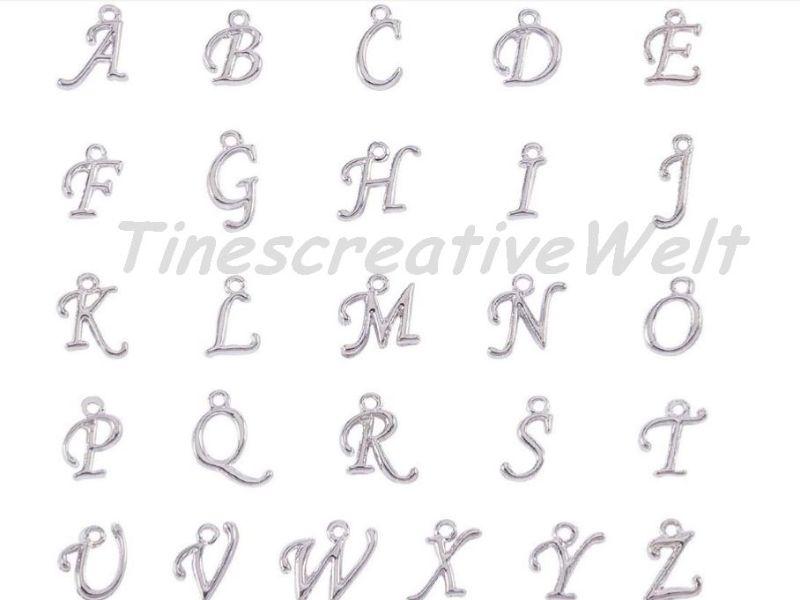 Kleinesbild - Personalisierter Schlüsselanhänger, Buchstaben, Flaschenöffner, Paar Anhänger, Valentinstag, Geschenk für Freund, Freundin