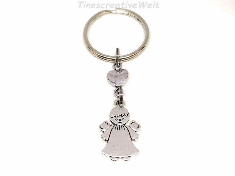- Schlüsselanhänger, Schutzengel, Herz, Glücksbringer, Dankeschön, Engel, Geschenk - Schlüsselanhänger, Schutzengel, Herz, Glücksbringer, Dankeschön, Engel, Geschenk