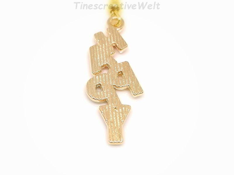 Kleinesbild - Schlüsselanhänger, Happy, Emaille, Glücklich sein, Hängeohrringe, Glücksbringer, Geschenk (Kopie id: 100277005)