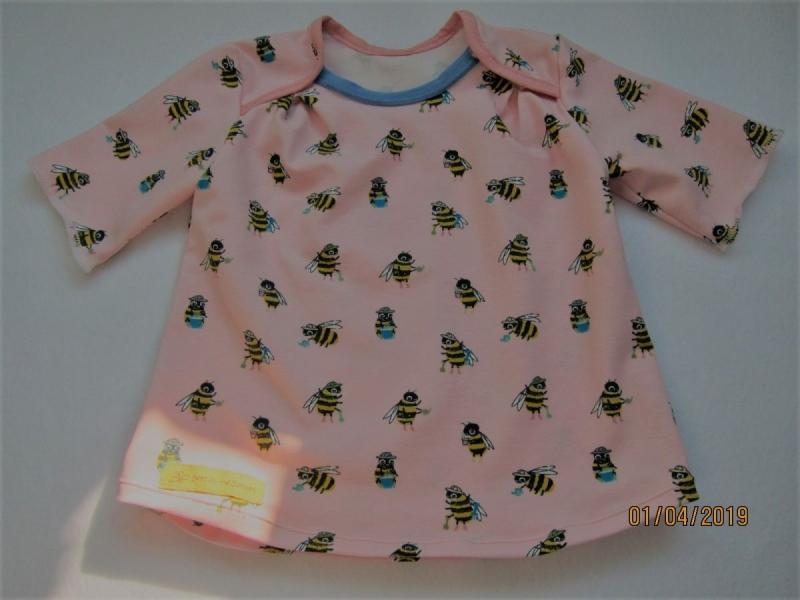 - Jersey T-shirt kurzarm weiß Bio Jersey Bienen Groeße 80 Ostern Frühling Busy-as-a-Bee - Jersey T-shirt kurzarm weiß Bio Jersey Bienen Groeße 80 Ostern Frühling Busy-as-a-Bee