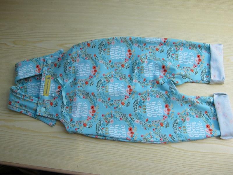- Öko-Strampler für Babies türkis  - Öko-Strampler für Babies türkis
