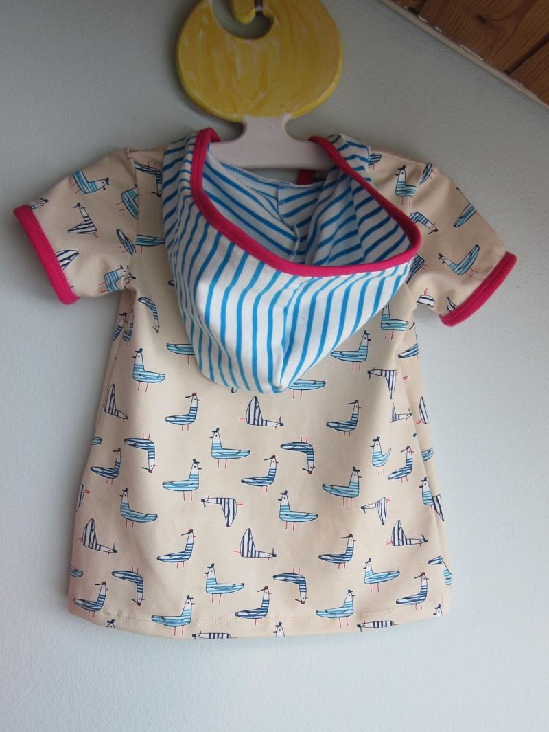 Kleinesbild - Baby Hoody Sweatshirt Jacke in Öko Baumwolle Größe 74, Schlupf Hoodie Bio