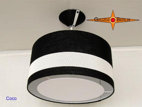 wohnen diffusor f r lampenschirme mit lichtrand 45 cm lampen blendschutz. Black Bedroom Furniture Sets. Home Design Ideas