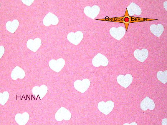 Kleinesbild - Rosa Lampenschirm mit Herzen HANNA Ø40 cm