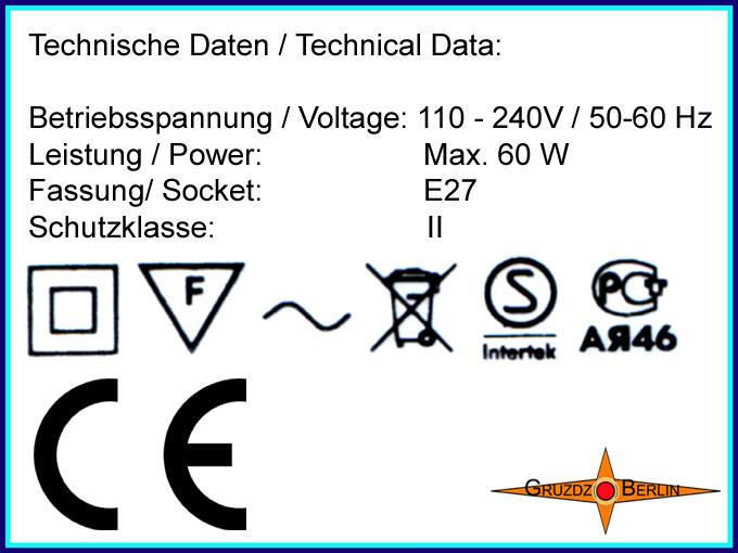 Kleinesbild - Lila Deckenlampe mit Punkten LILA Ø45 cm und Lichtrand Diffusor