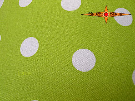 Kleinesbild - Grüne Lampe mit Punkten LALE Ø30 cm mit Diffusor