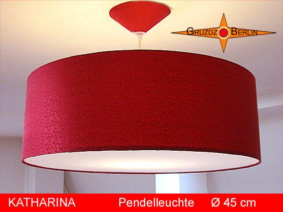 Wohnen Rote Lampe Aus Seide Katharina ø45 Cm Mit Diffusor