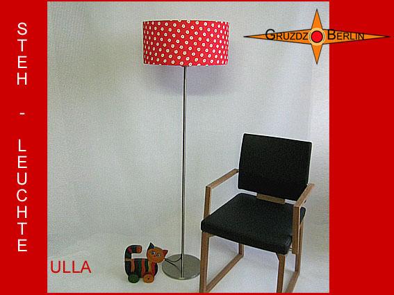 stehlampen stehlampe rot gepunktet ulla stehleuchte. Black Bedroom Furniture Sets. Home Design Ideas