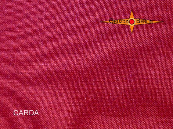 Kleinesbild - Tischleuchte bordo CARDA Tischlampe bordeaux Leinen