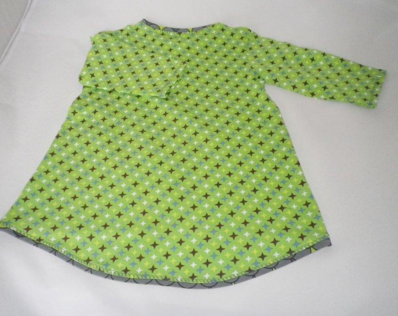 Kleinesbild - Langarmshirt, Tunika für kleine Fräuleins Gr.98